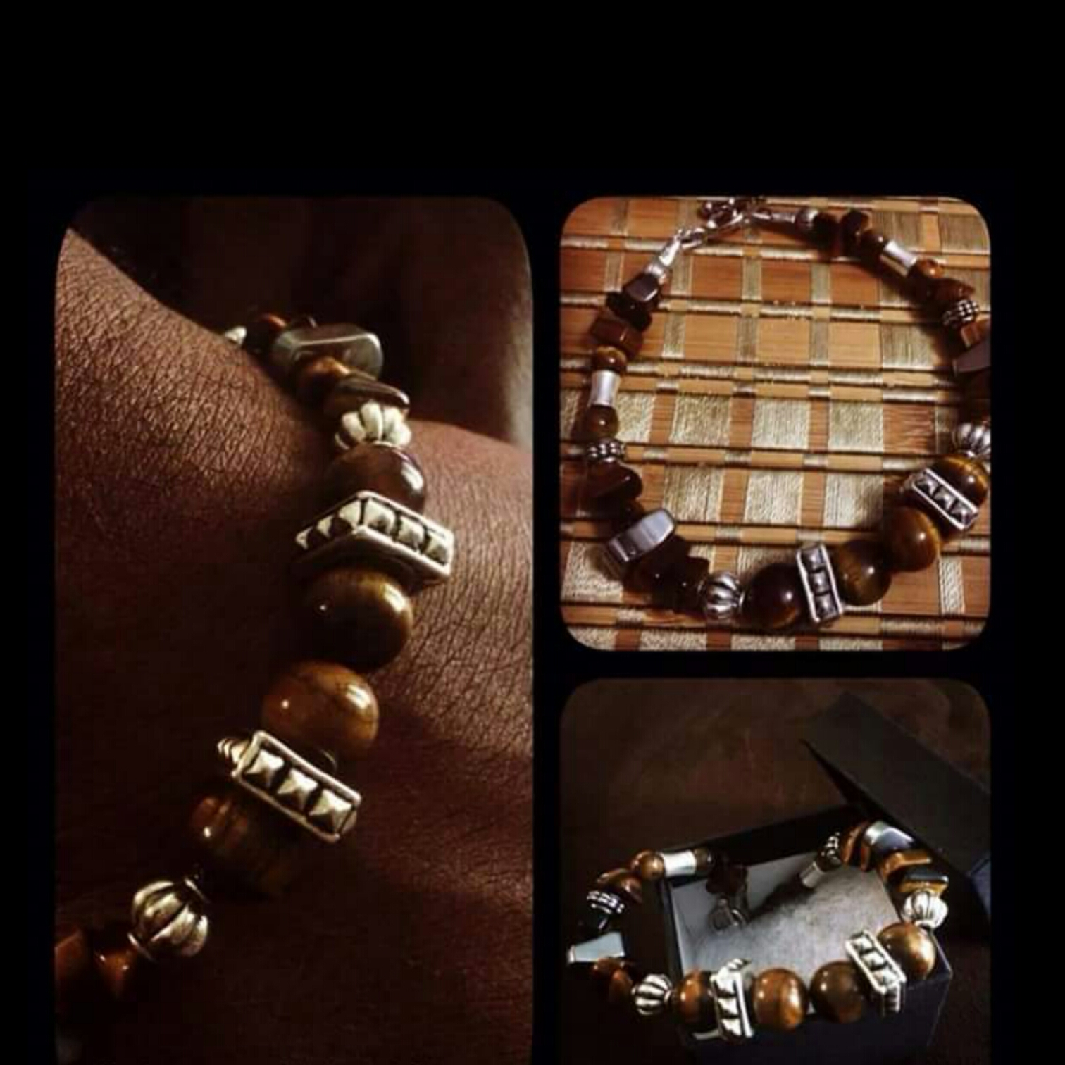 Gemstone-Men-Bracelets